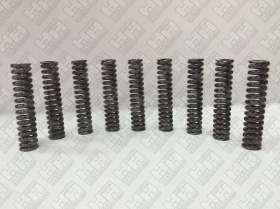 Комплект пружинок (9шт.) для гусеничный экскаватор DAEWOO-DOOSAN S450LC-V (134537)