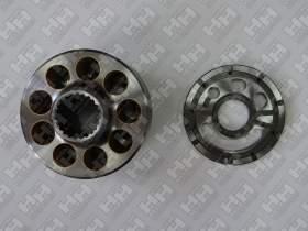 Блок поршней c распределительной плитой для гусеничный экскаватор KOMATSU HB205LC (708-2L-07210, 708-2L-33290)